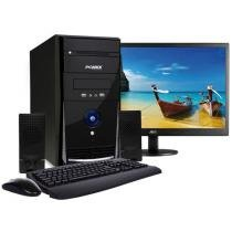 Computador/PC PC Mix L3300 Intel Celeron Dual Core - 2GB 320GB LED 18,5 Grava DVD