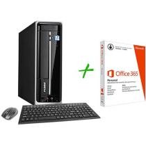 Computador/PC PC Mix L4500 Intel Pentium Quad Core - Windows 8 4GB 500GB + Pacote Aplicativo Office 365