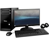 Computador/PC Philco DTC-P887LM c/ AMD A6 2,10 GHz - 8GB 1TB Grava CD / DVD