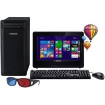 Computador/PC Positivo Premium PCTV DR3000 - Intel Dual Core 2GB 320GB Windows 8.1 LED 15,6