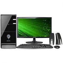Computador/PC Qbex UPDA1C1F192415X1 Intel Core i5 - 4GB 750GB Windows 8 + Monitor LED 20 Polegadas