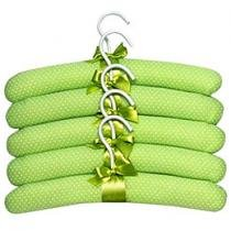 Conjunto de Cabides Tricoline Bolinhas 5 Peas