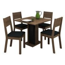 Conjunto de Mesa Bali e 4 Cadeira