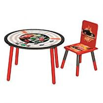 Conjunto de Mesa e Cadeira Cars - Fun Spaces