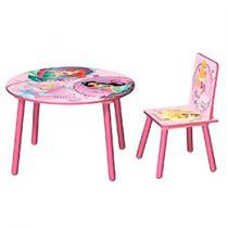 Conjunto de Mesa e Cadeira Princesas - Fun Spaces