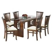 Conjunto de Mesa Fort Espanha 6 Cadeiras