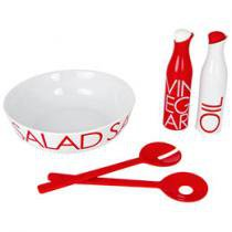 Conjunto para Salada 5 Peas Porcelana