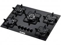 Cooktop a Gs 5 Bocas Built BLT5QTC Tripla Chama