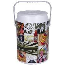 Cooler 24 Latas Retro Color - Anabell