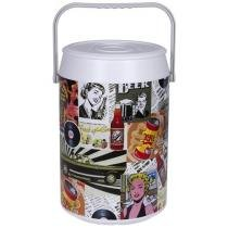Cooler 42 Latas Anabell - Retro Color