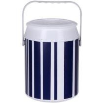 Cooler 8 Latas Anabell - Navy Listras