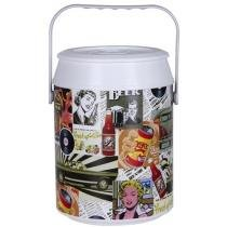 Cooler 8 Latas Retro Color - Anabell