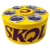 Cooler Skol p/ 6 Long Necks