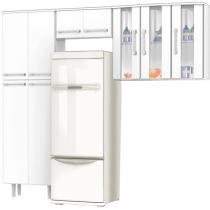 Cozinha Compacta Tridimensional Clean 9 Portas