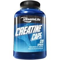 Creatina Caps 120 Cápsulas - Vitaminlife