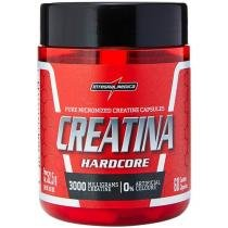 Creatina Hardcore Caps 60 Cápsulas