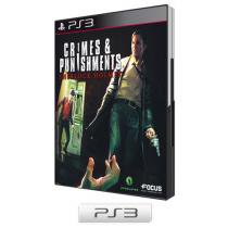 Crimes and Punishment Sherlock Holmes para PS3 - Maximum Games