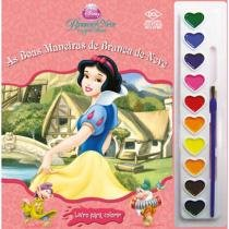Disney Aquarela As Boas Maneiras de Branca de Neve - DCL