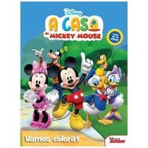 Disney Junior Vamos Colorir! - A Casa Do Mickey Mouse - DCL