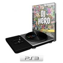 DJ Hero com Pickup do DJ p/ PS3