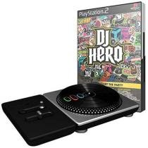 Dj Hero com Pickup do DJ para PS2 - Activision