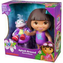 Dora Aventureira e Botas Amigos Splash - Fisher-Price