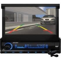 DVD Automotivo Aquarius DPA3002 Retrátil Tela 7 - Touch Screen com Entrada USB e SD