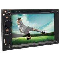 DVD Automotivo Dazz DZ-52216BT-DTV Tela 6,2 Touch - com TV digital Bluetooth USB Entrada Auxiliar