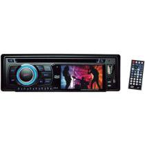 DVD Automotivo Leadership 3 - Entrada Auxiliar e USB