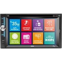 "DVD Automotivo Multilaser Zion Tela 6,2"" - Touchscreen com Entrada USB SD"