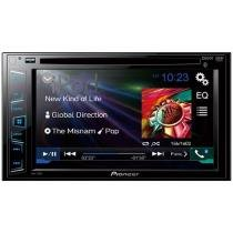 DVD Automotivo Pioneer AVH-278BT Tela 6,2 - Bluetooth com Entrada USB