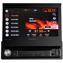 "DVD Automotivo Pioneer AVH-3580DVD Retrátil - Tela 7"" Touch Screen Entrada Auxiliar e USB"