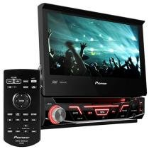 "DVD Automotivo Pioneer AVH-3880DVD Retrátil - Tela 7"" Touch Screen USB"