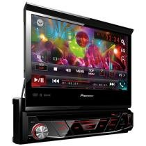 "DVD Automotivo Pioneer AVH-4880BT - LCD 7"" Retrátil Touch Bluetooth 23 Watts RMS"