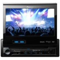 "DVD Automotivo Pioneer AVH-P6380BT Tela 7"" - Bluetooth + Entradas USB e SD Card + Auxiliar"
