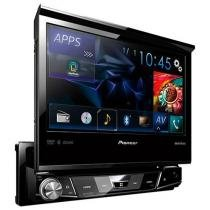 DVD Automotivo Pioneer AVH-X7880TV Tela 7 - Retrátil Bluetooth 23 Watts RMS Entrada USB