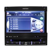 DVD Automotivo Pósitron SP6861NAV Tela Retrátil 7 - GPS Integrado + TV Digital + Bluetooth