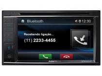 DVD Automotivo Pósitron SP8520BT LCD 6,2 - Touch Bluetooth 180W RMS USB SD Auxiliar Frontal