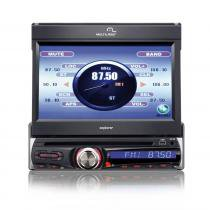 DVD Player Automotivo Multilaser Tela 7 TV GPS USB Aux AmFM - P3156 - Neutro - Multilaser