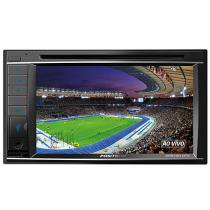 "DVD Player Automotivo Pósitron SP8720DTV - Tela 6,2"" Touch Screen USB Bluetooth Double Din"