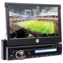 "DVD Player Automotivo Retrátil Dazz DZ-5220BT-DTV - Tela 7"" Touch c/ Tv Bluetooth Entrada Auxiliar USB"