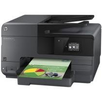 e-Multifuncional HP Officejet Pro 8610 - Jato de Tinta Colorida Wi-Fi Tela 2,65""