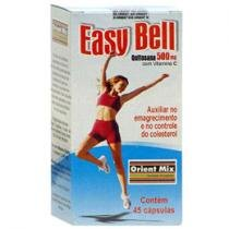 Easy Bell Quitosana 500mg c/ Vitamina C - 45 Cápsulas - Orient Mix