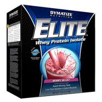 Elite Whey Protein Isolate 4,536kg - Dymatize Nutrition - Smooth Banana
