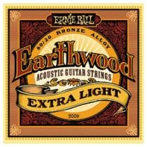Encordoamento de Bronze 0.10 para Violão - Ernie Ball Earthwood 2006