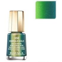 Esmalte Mavala Sublime Mini Color - Cor Emerald Gold