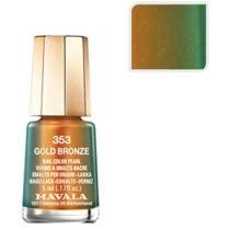 Esmalte Mavala Sublime Mini Color - Cor Gold Bronze