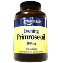 Evening Primrose Oil 500mg 100 Cápsulas - VitaminLife