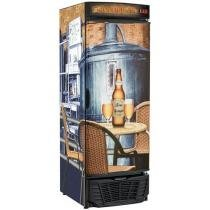 Expositor/Cervejeira Vertical 1 Porta Frost Free