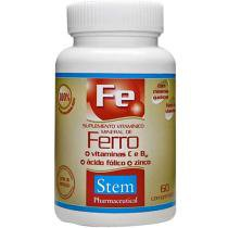 Ferro 60 cápsulas - Stem Pharmaceutical